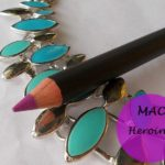 MAC Heroine Lip Pencil: Review, Swatches, Dupe and FOTD