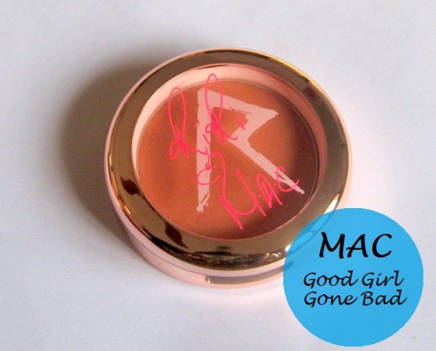 mac riri bad girl gone good blush review