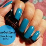 NOTD: Maybelline Color Show Nail Polish Shocking Seas