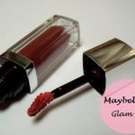 Maybelline Colorsensational Lip polish Glam 13: Swatches, Review and FOTD