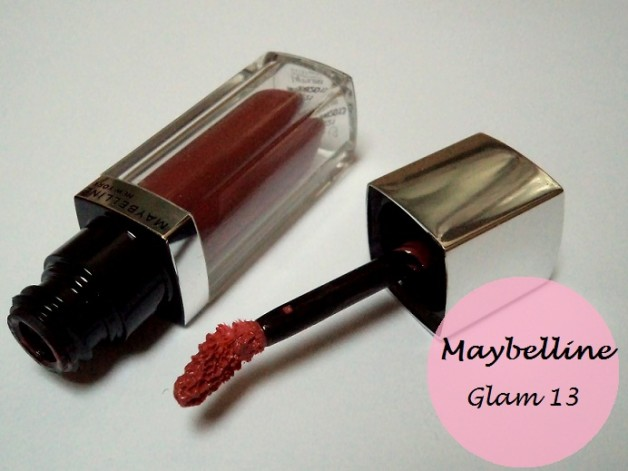 maybelline lip polish review glam13 photo