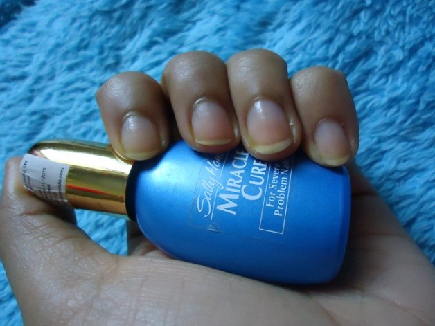 sally hansen miracle cure review for nails