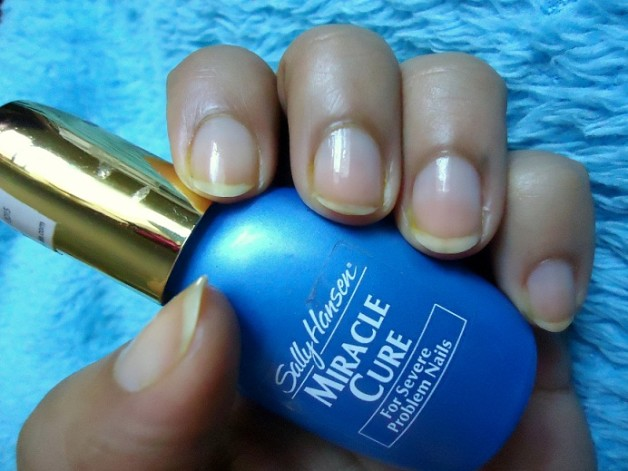 sally hansen miracle cure review india