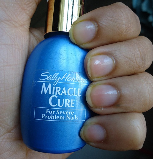 sally hansen miracle cure review photo