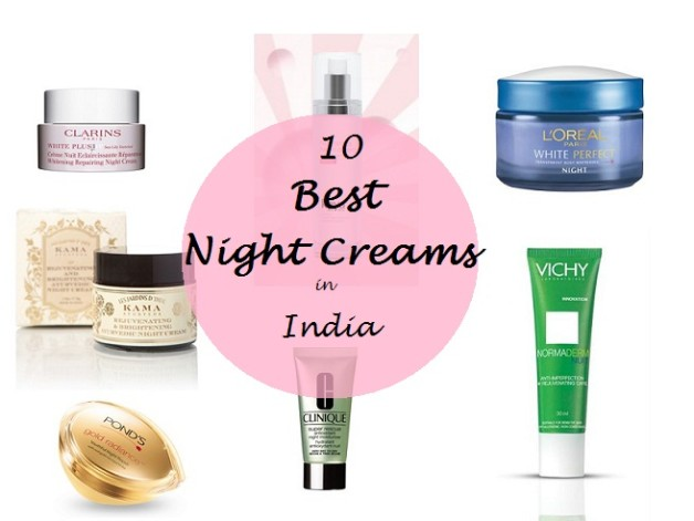 10 Best Night Creams Available in India for Oily to Combination Skin
