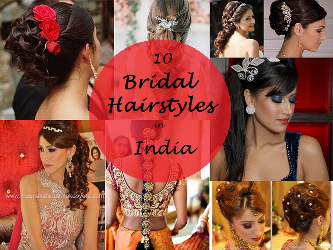 Indian engagement hairstyles for medium hair