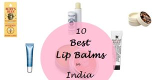 best lip balms available in india