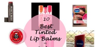 best tinted lip balms available in india
