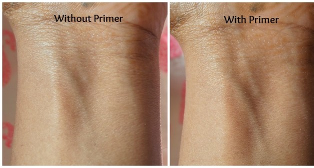 Bourjois Flower Perfection Translucent Smoothing Primer review swatches