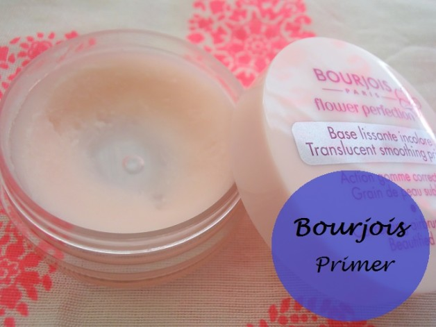 Bourjois Flower Perfection Tranlucent Smoothing Primer review swatches india