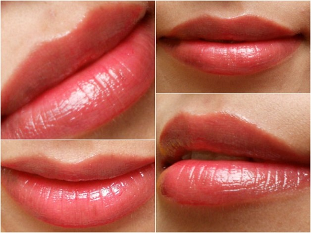 L'oreal shine caresse stain Bella review lip swatches