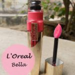 L'oreal Paris Shine Caresse Stain Bella: Review and Swatches