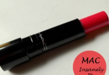MAC Sheen Supreme Lipstick Insanely It review swatches blog
