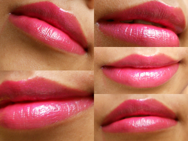 MAC Sheen Supreme Lipstick Insanely It review lip swatches
