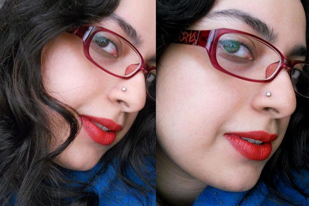 MAC Viva Glam 1 lipstick review swatches FOTD