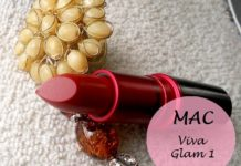 MAC Viva Glam 1 lipstick review swatches india