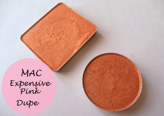 mac expensive pink eyeshadow review swatches dupe