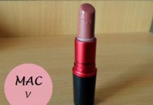 MAC viva glam v lipstick review swatches india