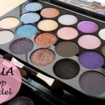 MUA Britain and Ireland's Next Top Model Palette: Review, Swatches and Look