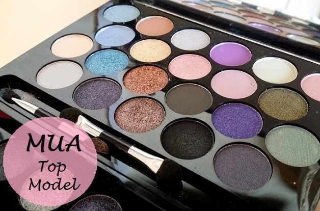 MUA Britains and Ireland Next Top Model Palette High Definition Supermodel Eyes review swatches blog