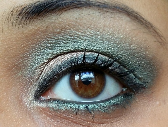 MUA Britains and Ireland Next Top Model Palette High Definition Supermodel Eyes review swatches eotd
