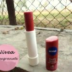 Nivea Fruity Shine Lip Balm Pomegranate: Review, Swatches and FOTD