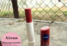 Nivea Fruity Shine Lip Balm Pomegranate review india