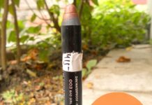 Rimmel ScandalEyes eyeshadow stick Bad Girl Bronze review swatch blog