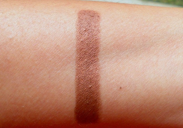 Rimmel ScandalEyes eyeshadow stick Bad Girl Bronze review swatches