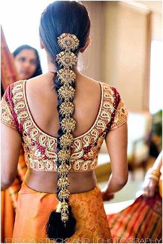 Groovy 10 Best Indian Bridal Hairstyles For Long Hair Hairstyles For Men Maxibearus