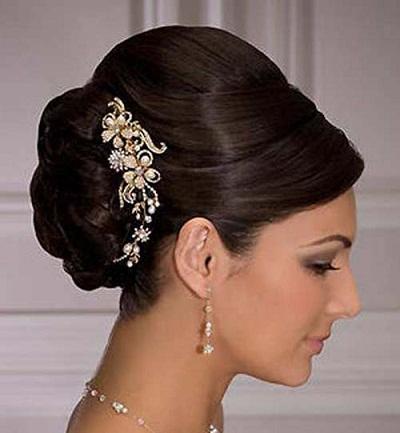 Pleasing 10 Best Indian Bridal Hairstyles For Long Hair Hairstyles For Men Maxibearus