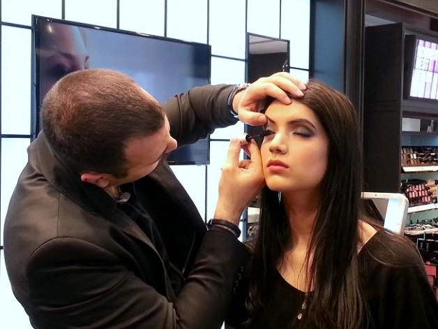 bobbi brown smokey eye makeup mascara tutorial