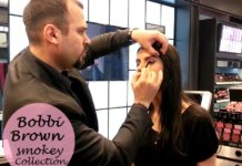 bobbi brown smokey eye makeup tutorial by Eliano Bou Assi