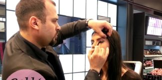 bobbi brown smokey eye makeup tutorial by Eliano Bou Assi