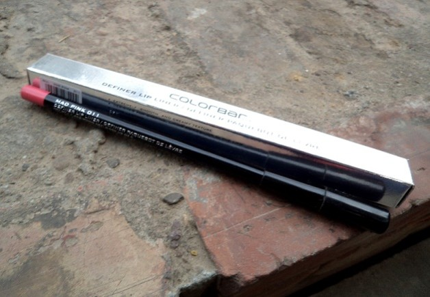 colorbar definer lip liner mad me pink review swatches blog