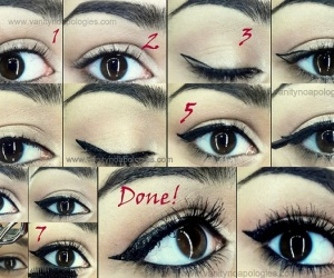Tutorial: How to do Perfect Cat Eye with Liquid Liner