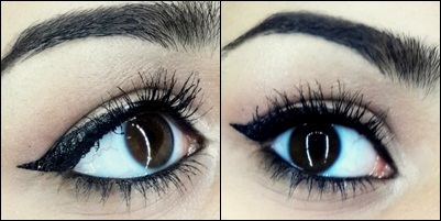 how to do easy cat eyeliner tutorial final look