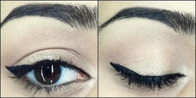how to do easy cat eyeliner tutorial step 7