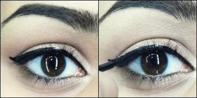 how to do easy cat eyeliner tutorial step 8