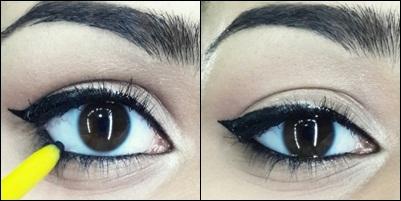 how to do easy cat eyeliner tutorial step 9