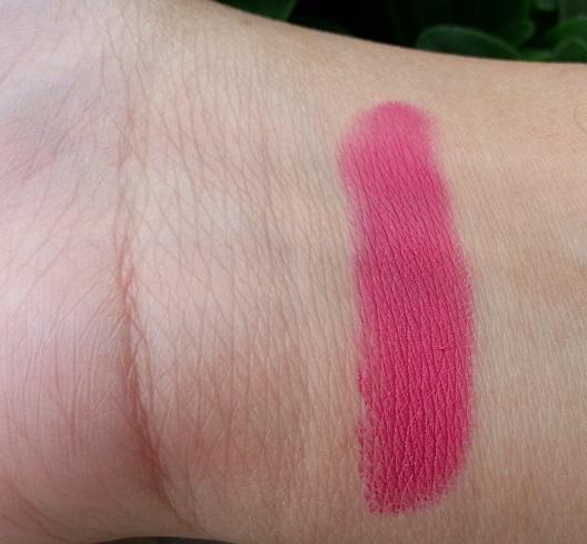 inglot matte lipstick 421 review swatch