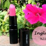 Inglot Matte Lipstick #421: Review, Swatches and FOTD