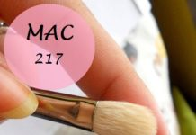 mac 217 eyeshadow blending brush review photo