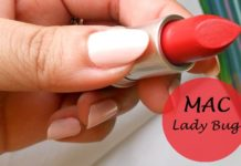 mac lady bug lipstick review swatches india