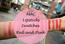 mac lipsticks swatches part 2