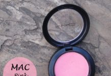 mac pink swoon sheertone blush review swatch india