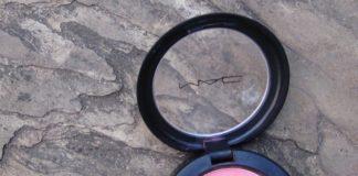 mac pink swoon sheertone blush review swatch india