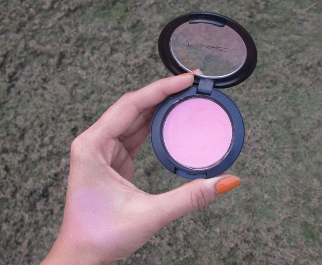 mac pink swoon sheertone blush review swatches