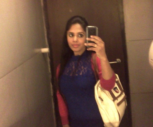 outfit of the day blue lace top