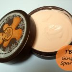 The Body Shop Ginger Sparkle Body Butter: Review and Photos